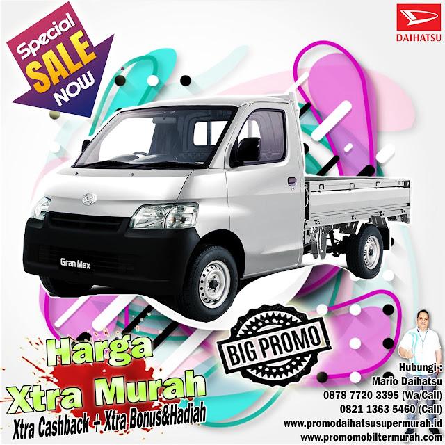 promo daihatsu granmax pick up