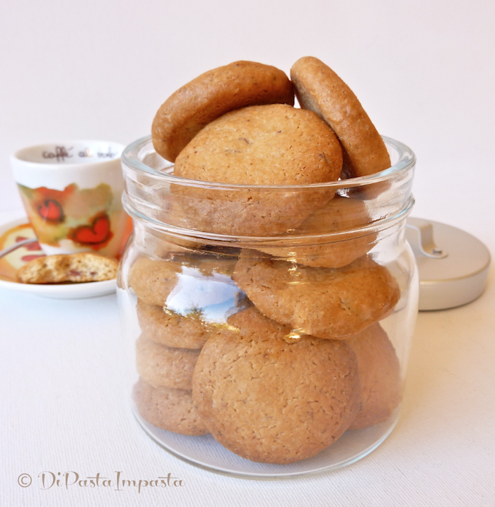 Di Pasta Impasta Biscotti Di Farro E Mandorle Senza Burro