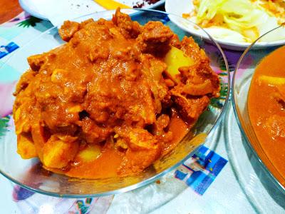 Resepi Kari Daging Guna Periuk Nasi, Rice Cooker
