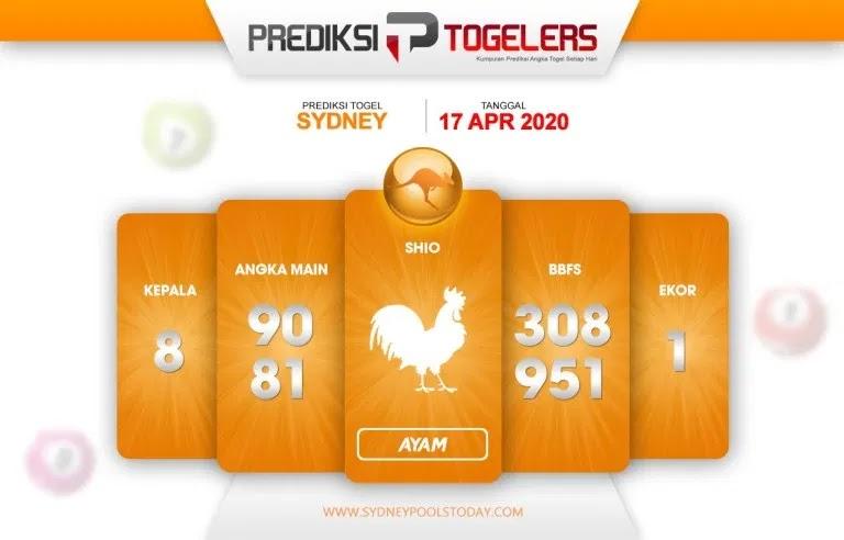 Prediksi Togel Sidney 16 April 2020 - Prediksi Togellers
