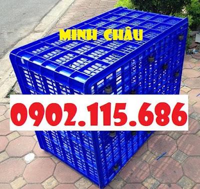 S2 Sọt nhựa 26 bánh xe, thùng nhựa 26 bánh xe, sọt nhựa HS015, sọt nhựa cỡ lớn, sọt nhựa kéo