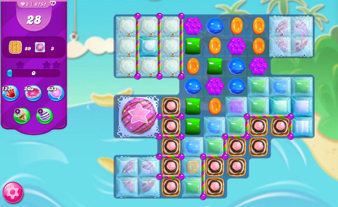 Candy Crush Saga level 6757