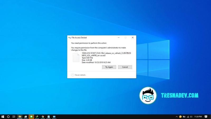 Cara Cepat Membuat File Tidak Bisa Dihapus Pada Windows 10