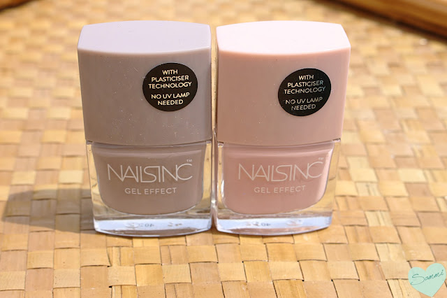NAILS INC | GEL EFFECT POLISHES  MAYFAIRE LANE AND PORCHESTER SQUARE