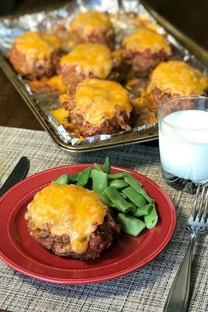 individual taco meatloaf - make meatloaf fun