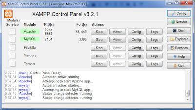 Cara Instal Xampp tool Untuk Mengembangkan Aplikasi Web