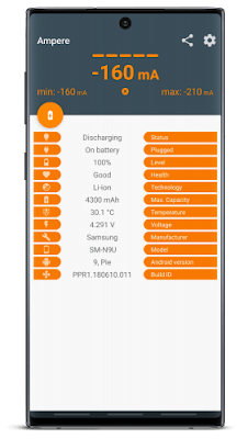 شرح تحميل تطبيق Ampere Pro لقياس قوة الشاحن