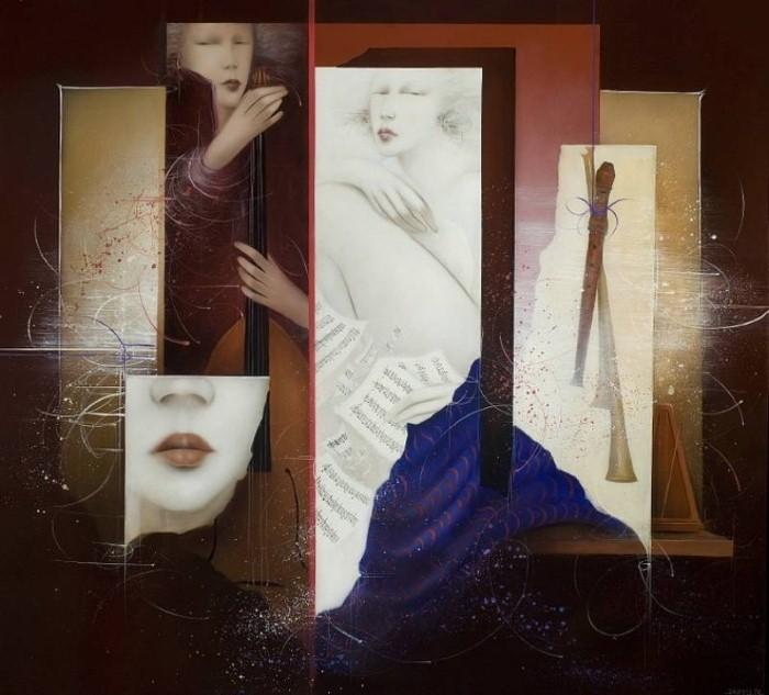 Современные художники Бельгии. Jean-Claude Dresse 23