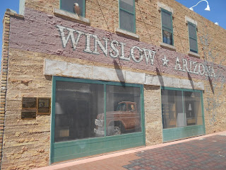 the corner in winslow arizona