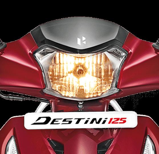 New 2019 Hero Destini 125 Headlight