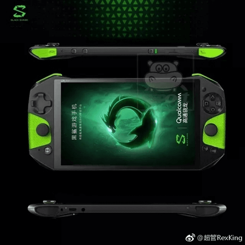 Xiaomi's upcoming Black Shark has a design that looks like a LEGIT gaming phone!