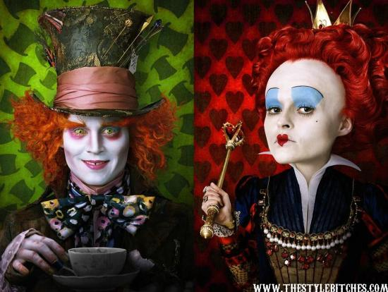 Latest Hollywood Hottest Wallpapers: Johnny Depp Mad Hatter