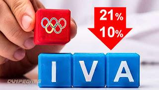 Bajada IVA deporte