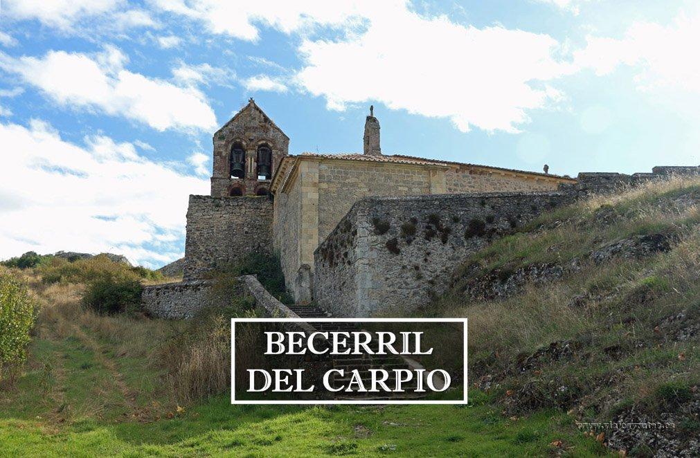 Las tres iglesias románicas de Becerril del Carpio