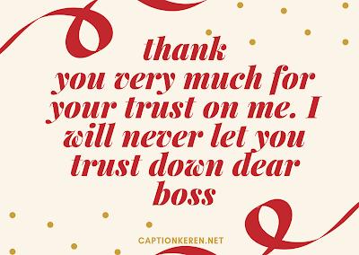ucapan terima kasih bahasa inggris untuk bos