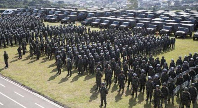 Guerra civil acaba de ser declarada no Brasil - OAB se posiciona a favor do povo