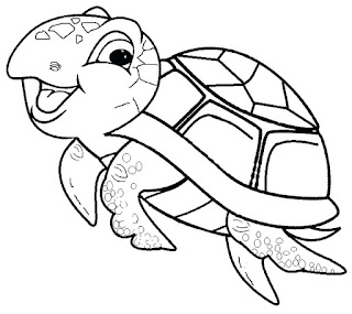 Adorable Turtle Coloring Pages For Kids Online
