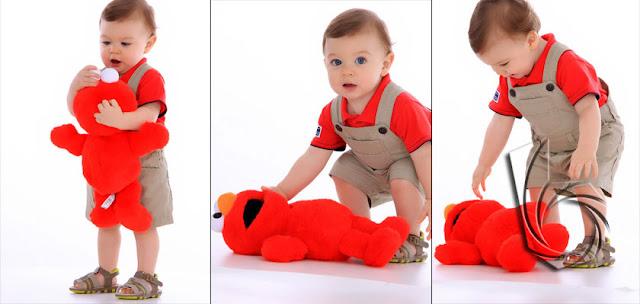 fotos de book mensal do bebe
