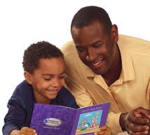 Read together--it helps develop language skills in your children