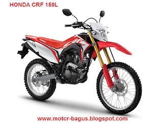 Harga motor honda Trail CRF 150 L baru