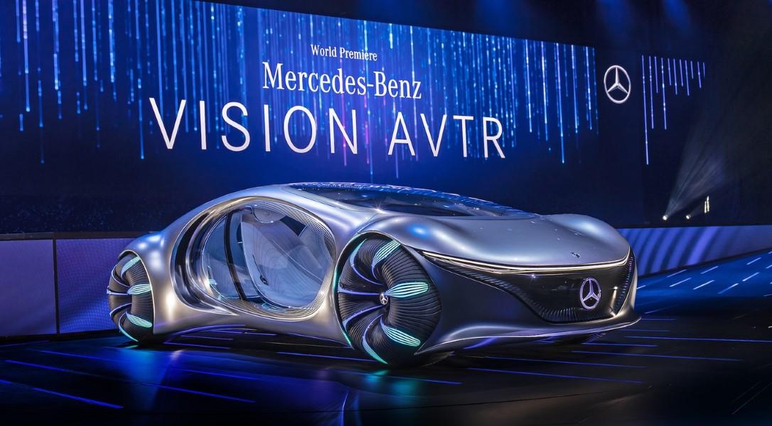 """coche eléctrico """"Avatar"""" de Mercedes-Benz"""