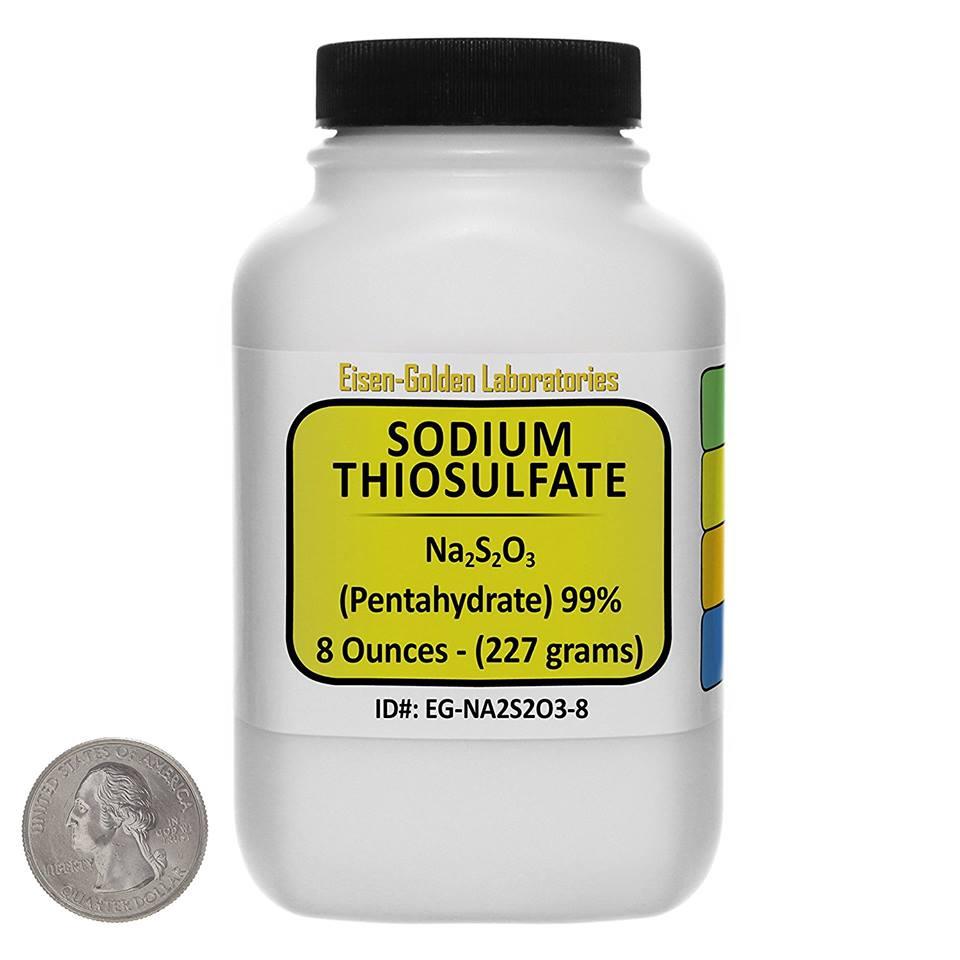 Chất hóa học Sodium Thiosulfate để pha dung dịch khử clo cho hồ thủy sinh, hồ cá cảnh