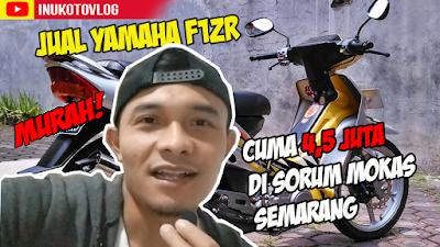 Jual Yamaha F1ZR Murah di Sorum Motor Bekas Semarang