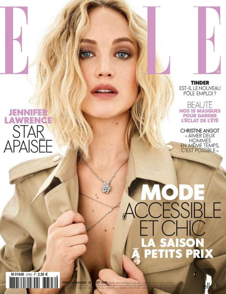 Η Jennifer Lawrence φωτογραφίζεται για το γαλλικό ELLE - Τρελό Γαϊδούρι d7df6c218d3