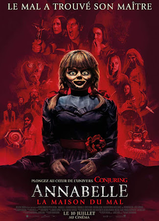 Poster Of Annabelle Comes Home In Dual Audio Hindi English 300MB Compressed Small Size Pc Movie Free Download Only At worldfree4u.com