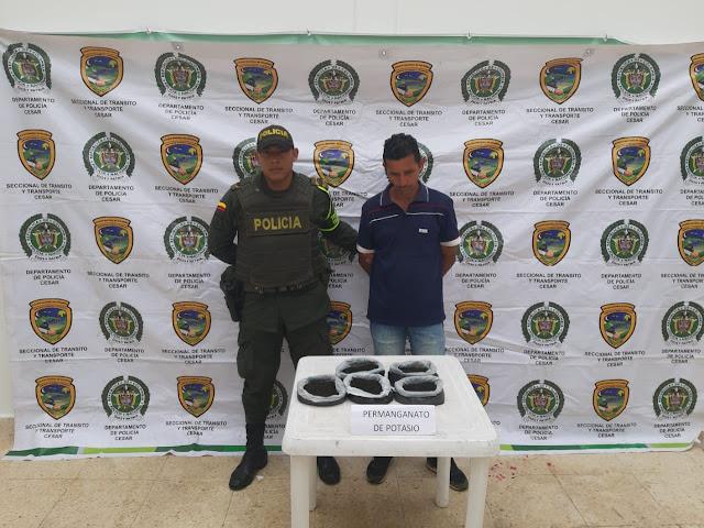 Captura en flagrancia por el delito de tráfico de sustancias para el procesamiento de narcóticos