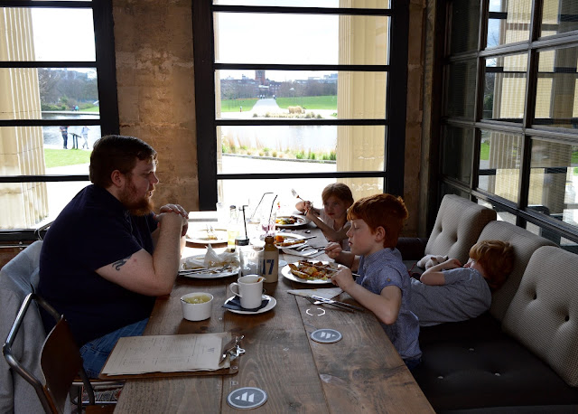 Exhibition Park Newcastle | Wylam Brewery Sunday Lunch - lake view
