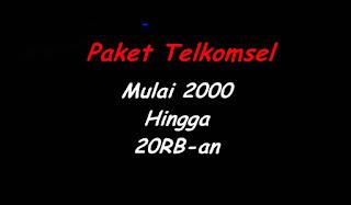 Beli Paket Internet 4G Telkomsel Mulai 1GB 2000Rp Cocok Untuk Batman