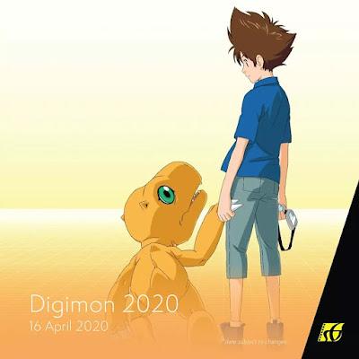 Senarai Filem Yang Akan Keluar di Panggung Wayang Tahun 2020 - Digimon (2020)