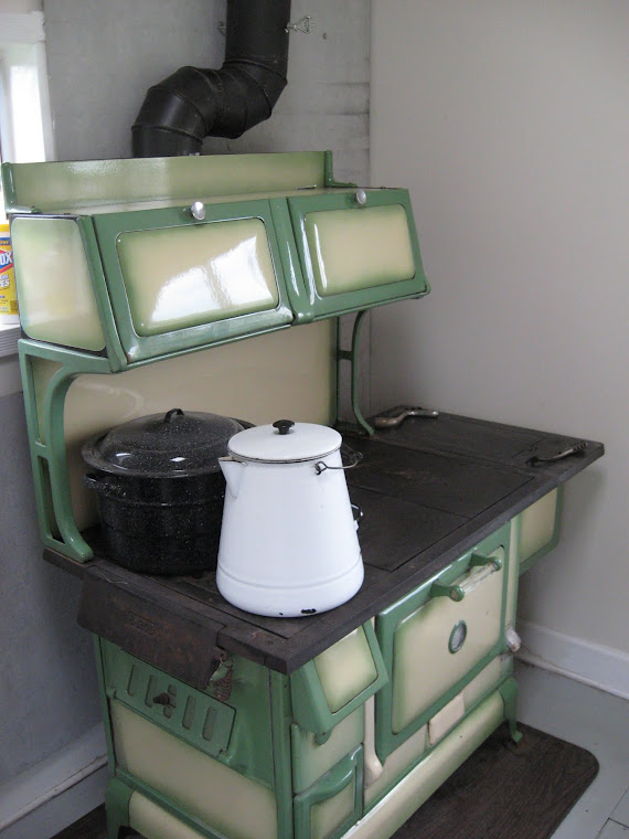 Wood Cookstove Cooking