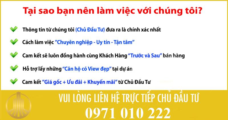 Cam kết với khách hàng khi mua chung cư 82 Nguyễn Tuân