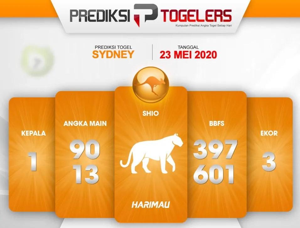 Kode Syair Sydney Sabtu 23 Mei 2020 - Prediksi Togelers