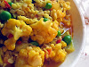 Spicy Urad Dal with Cauliflower and Peas