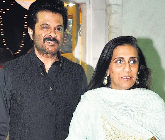 Anil Kapoor with Wife Sunita Kapoor