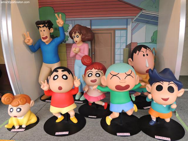 Shin-Chan en TV Asahi de Roppongi Hills, Tokio