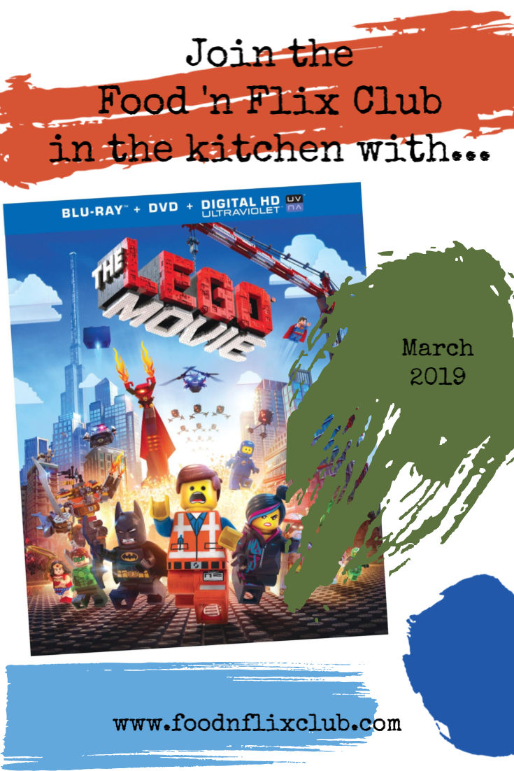 recipes inspired by The Lego Movie
