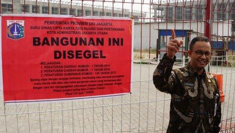 Menang, MA Tolak Gugatan Pengembang, Keputusan Anies Cabut Izin Reklamasi Sah!