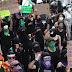 Se reactivan protestas feministas en la CDMX