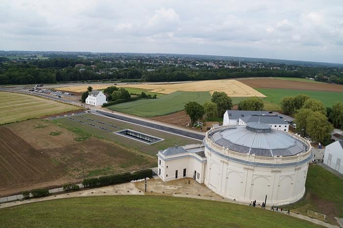 Besucherzentrum Mémorial 1815 in Waterloo, Belgien