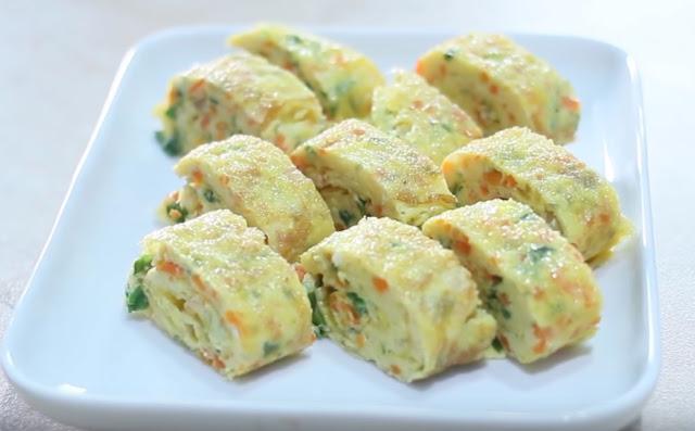 resep omelet telur gulung untuk sarapan pagi