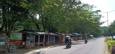 PERKIM Minut Benahi Pepohonan Dan Pedagang Di Jalan Soekarno menjadi bentuk Kerinduan menyambut Pimpinan yang baru
