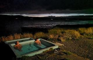 Baño relajante a 38-39ºC.