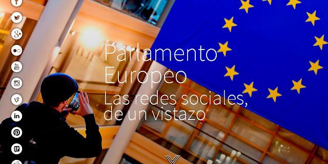 Descubra el Parlamento Europeo en las redes sociales.