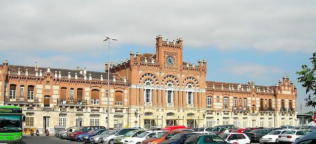 Resultado de imagen de estacion ferrocarril aranjuez