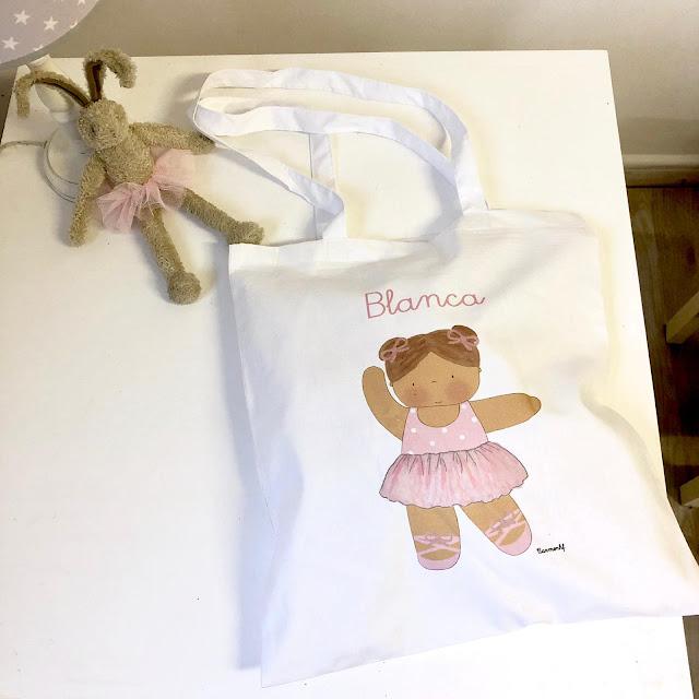 bolsas para bailarinas de ballet personalizadas