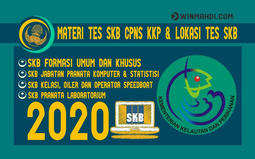 Materi Tes SKB CPNS KKP 2020